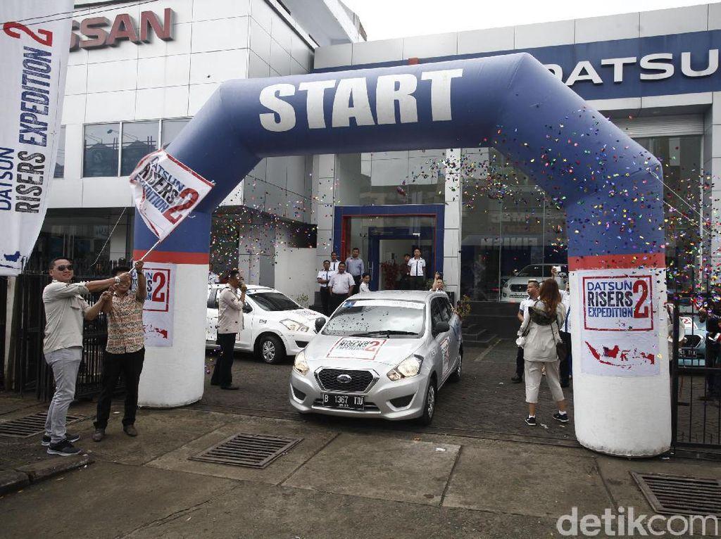 Sebelumnya, Datsun Risers Expedition (DRE) 2 di kota Makkasar resmi dibuka, Senin (20/3/2017) di dealer Datsun di kawasan Makassar.