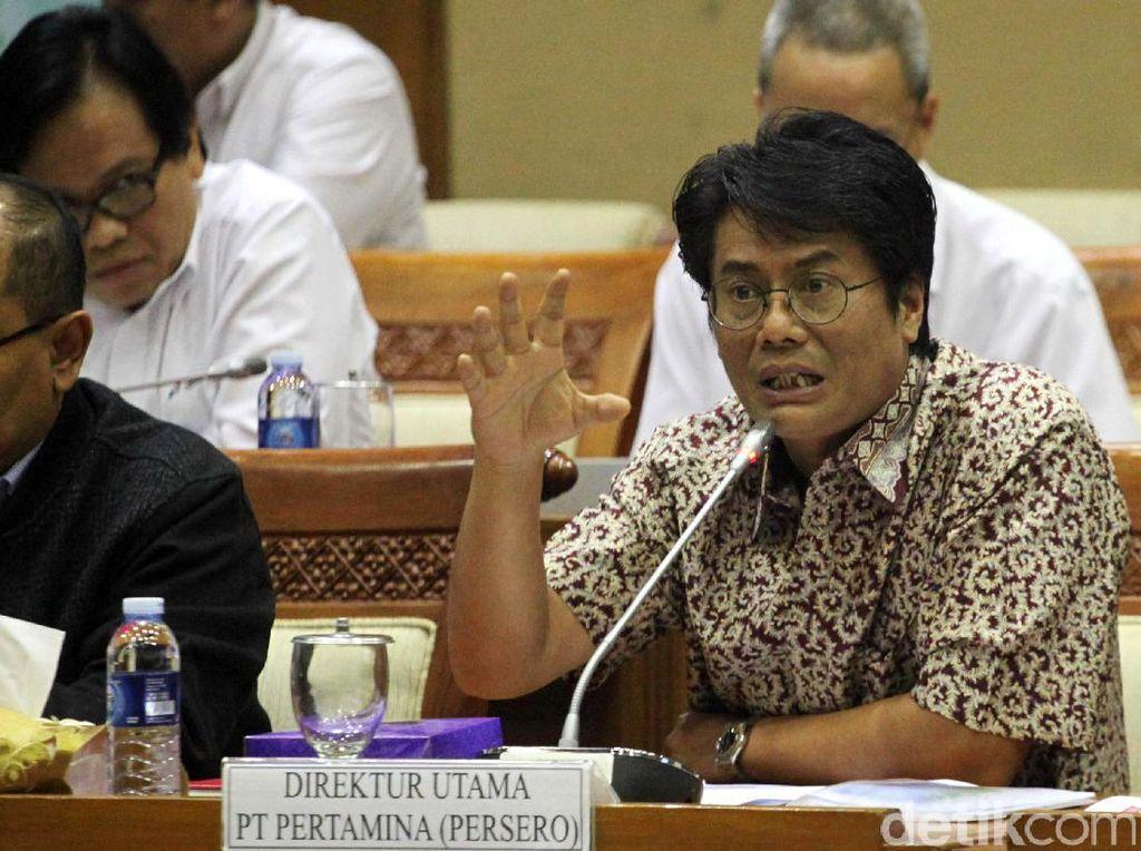Dirut Baru Pertamina Rapat Perdana dengan DPR