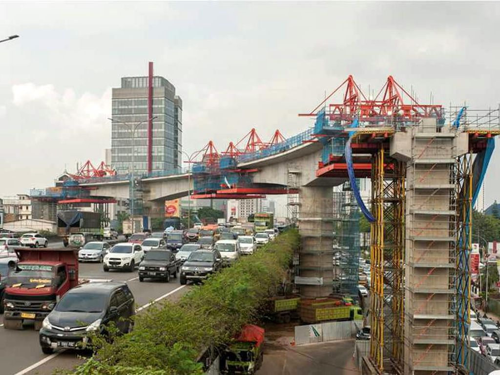 Pembangunan MRT Jakarta Capai 67%