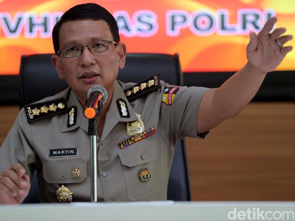 Polri Jelaskan Penangkapan Terduga Teroris di Banten