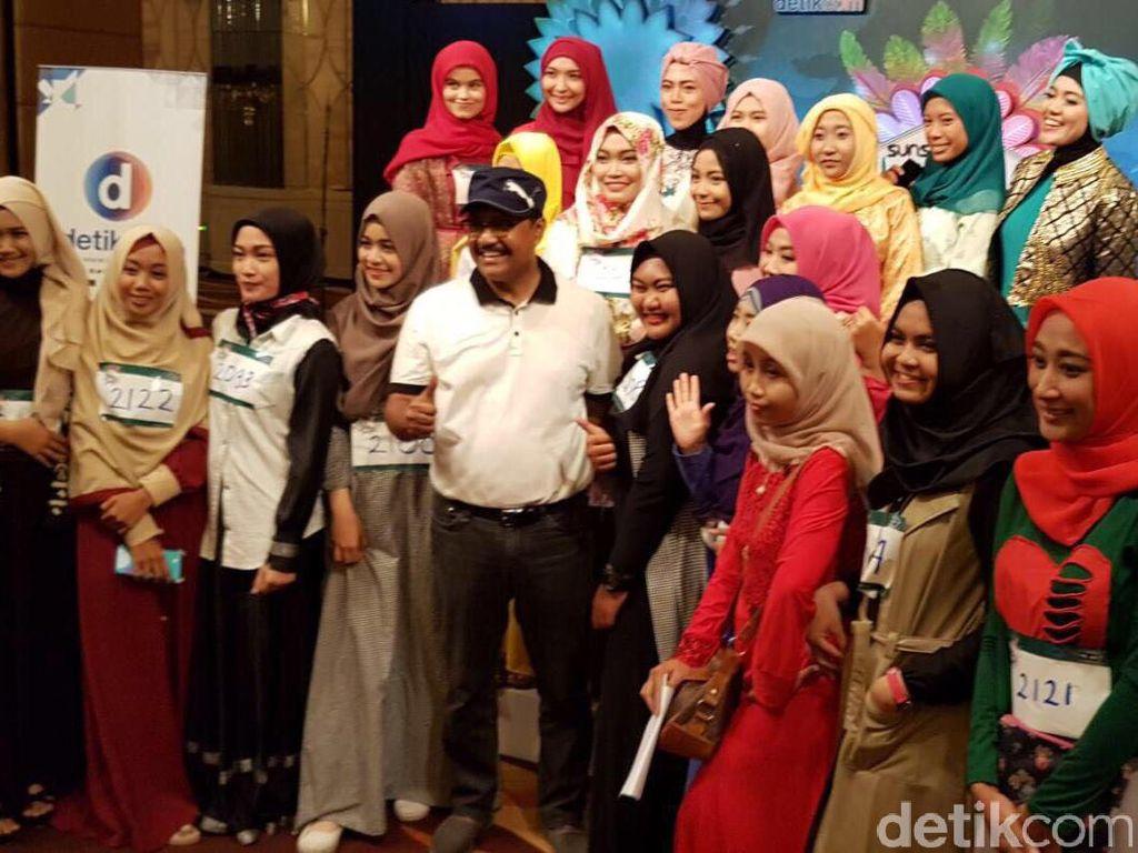 Pantun Jenaka Wagub Jatim untuk Memotivasi Peserta Sunsilk Hijab Hunt