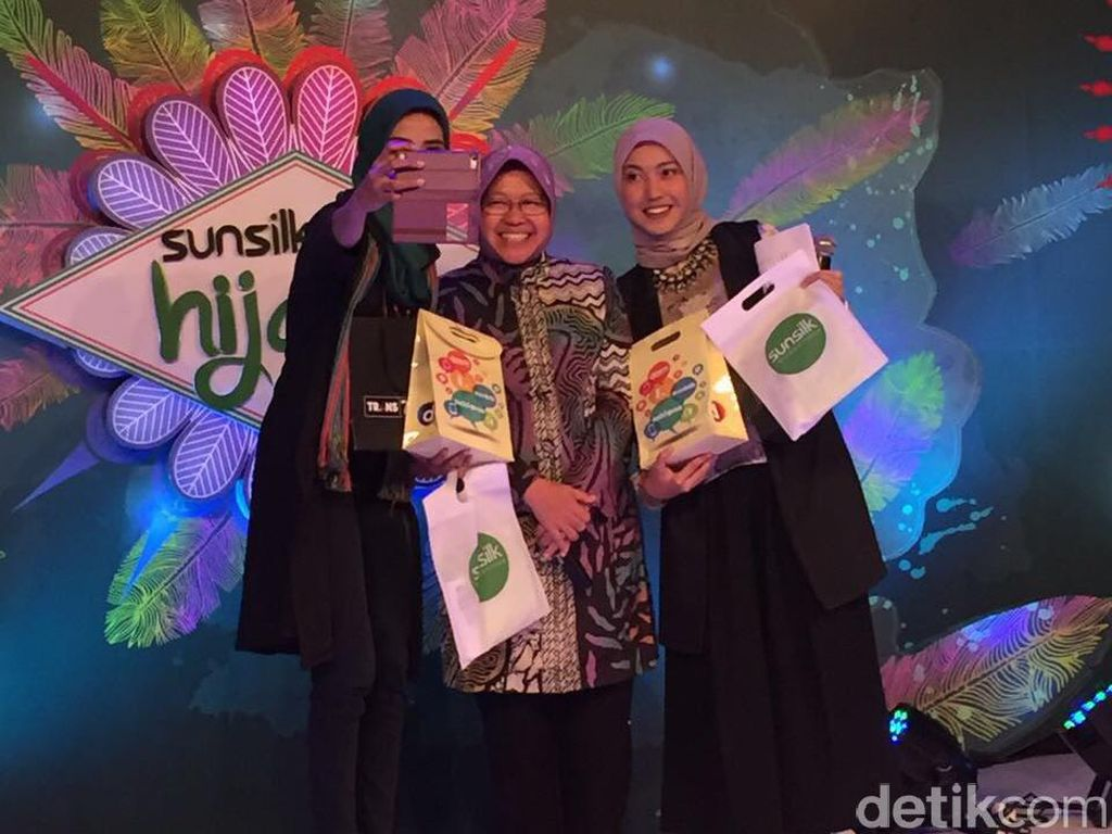 Risma Siap ke Jakarta untuk Dukung Finalis Sunsilk Hijab Hunt asal Surabaya