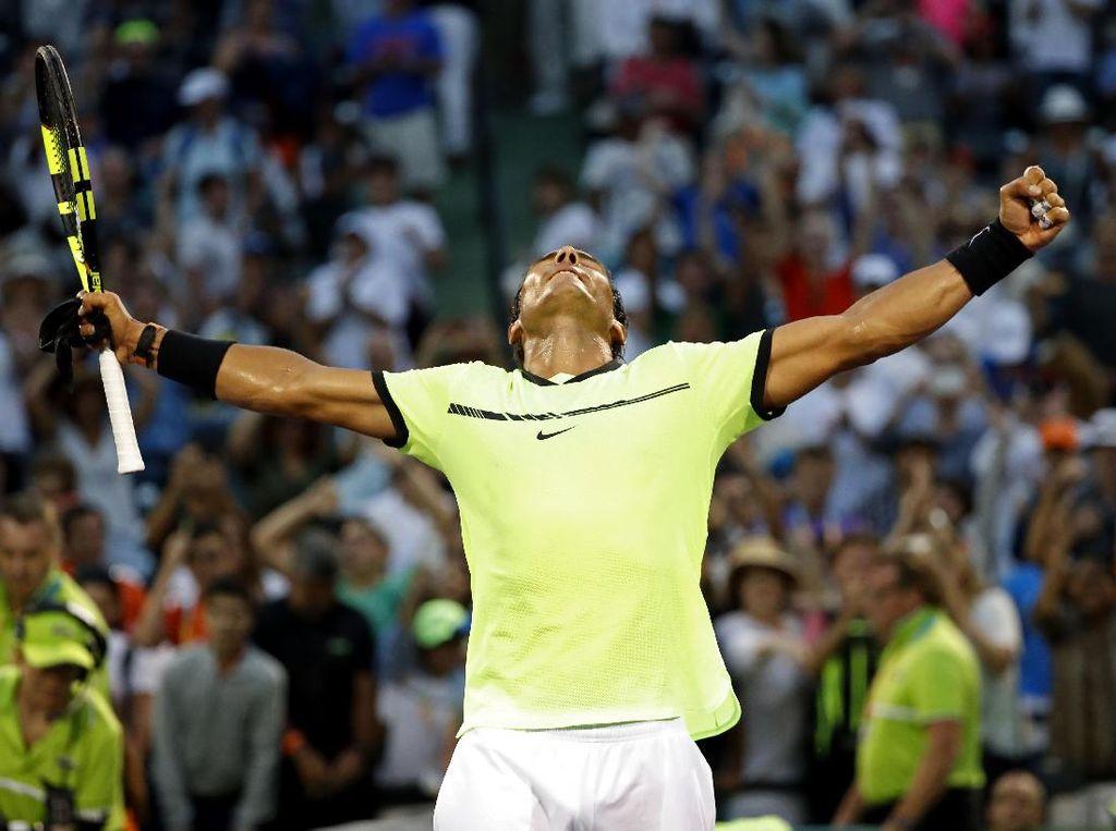 Nadal Melaju ke Babak Keempat Miami Terbuka