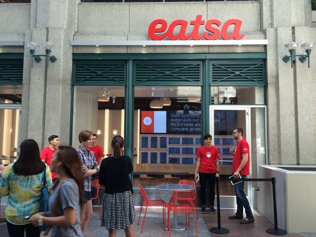 Restoran Otomatis 'Eatsa' Dituntut karena Menyulitkan Tuna Netra Saat Bersantap