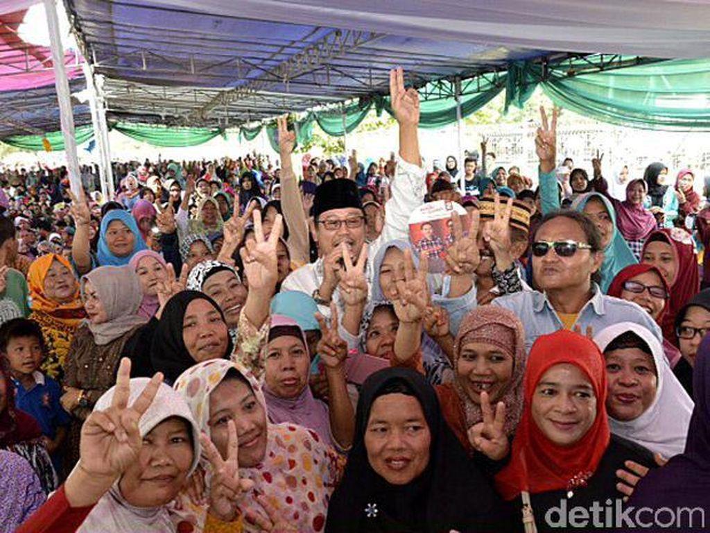 Ketum PPP Djan Faridz Kampanyekan Ahok-Djarot