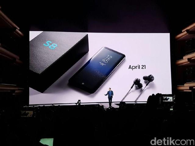 Momen Kelahiran Galaxy S8 di New York