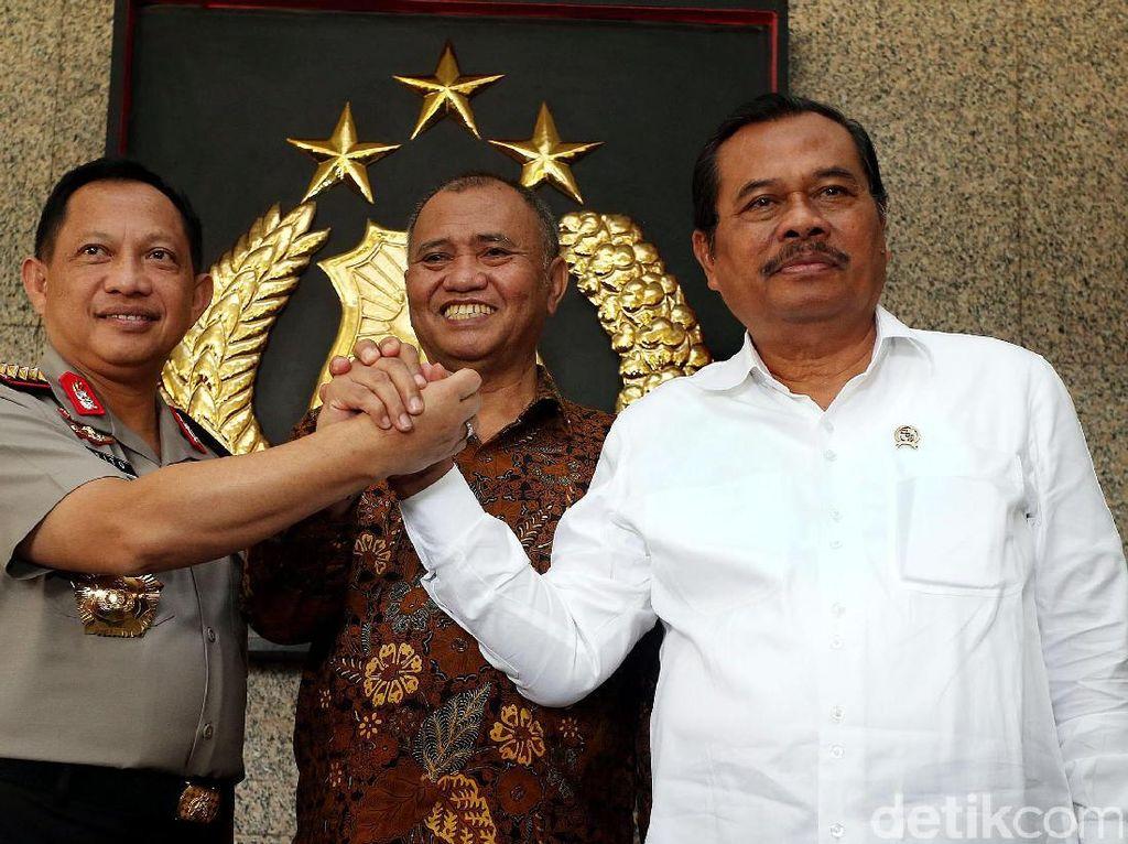 MoU Kulo Nuwun Tiga Lembaga Penegak Hukum