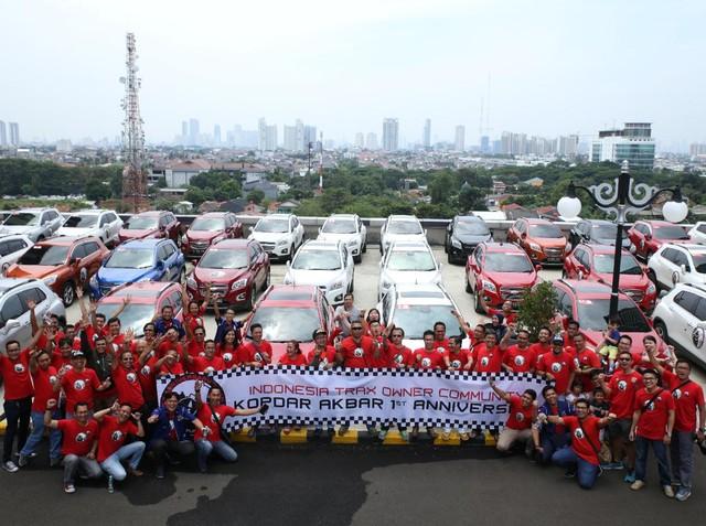 Kopdar Akbar HUT Perdana T-RAX Owner Community