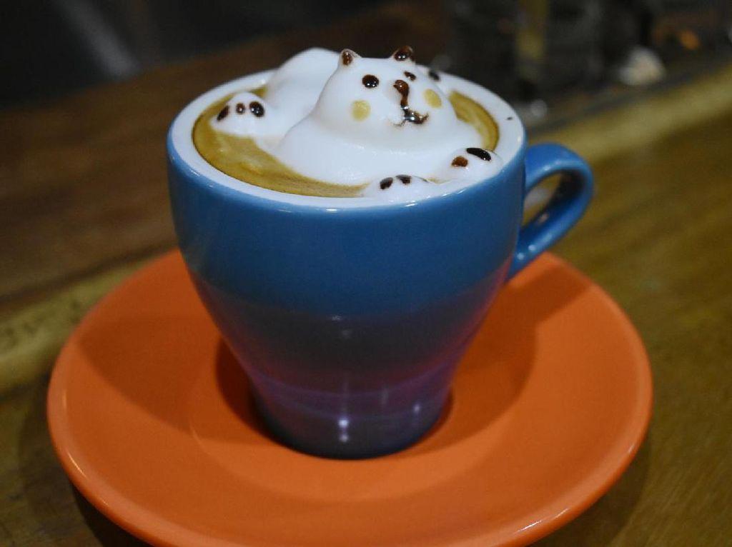 Mencicip Kopi Toraja Hingga Catpuccino berbentuk Lucu