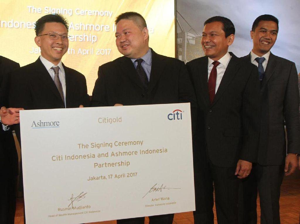 Citi Indonesia Pasarkan Produk Reksa Dana Ashmore