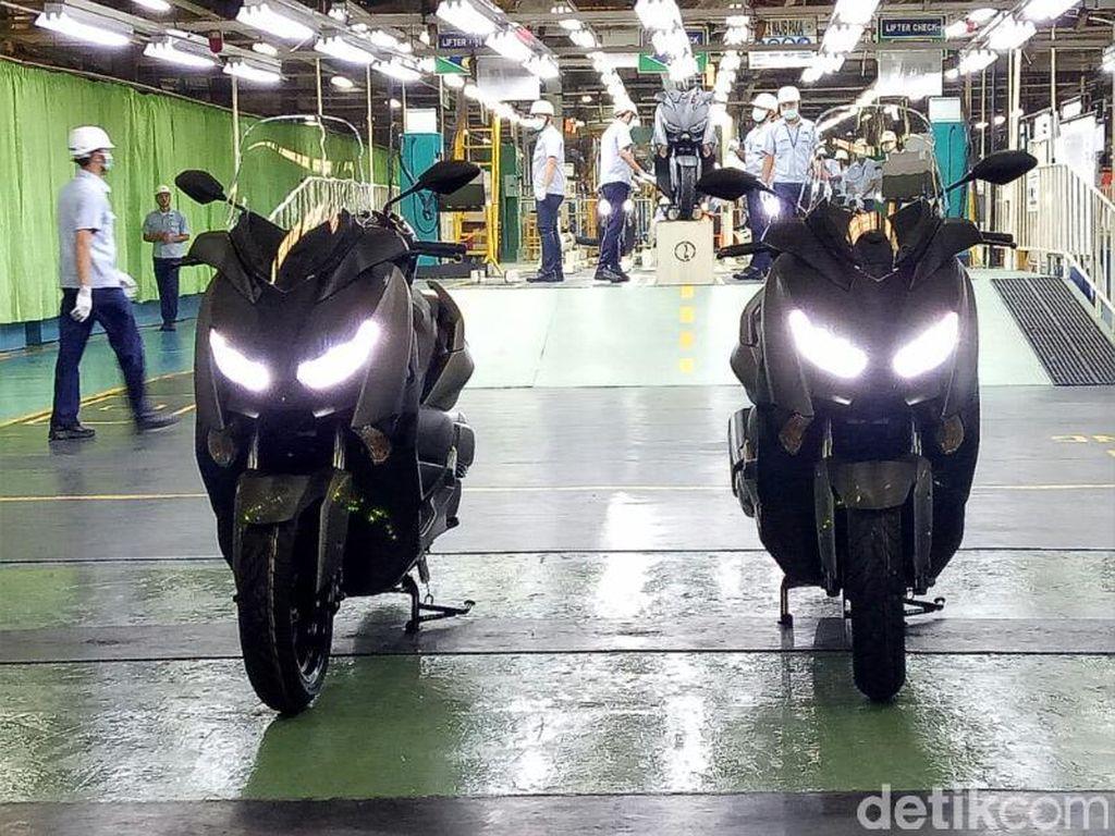 Ini bukan pertama kalinya Yamaha mengekspor sepeda motor. Beberapa motor produksi Yamaha Indonesia yang telah diekspor adalah R25, R3, NMAX ke Eropa, Jepang, Amerika Serikat dan negara lainnya.