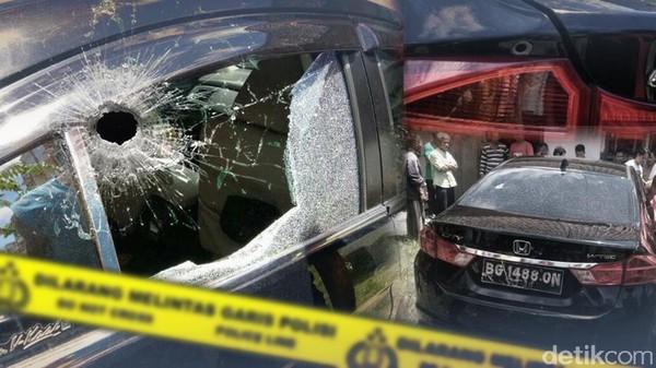 Penembakan Mobil Saat Razia