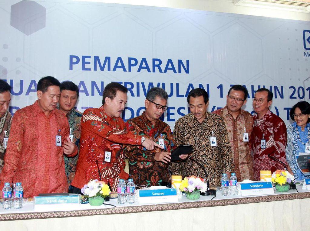 PT Bank Rakyat Indonesia Tbk (BRI) juga mencatat sampai kuartal 1 2017, realisasi penyaluran kredit usaha rakyat (KUR) sebesar Rp 14,11 triliun. (Foto: dok. BRI)
