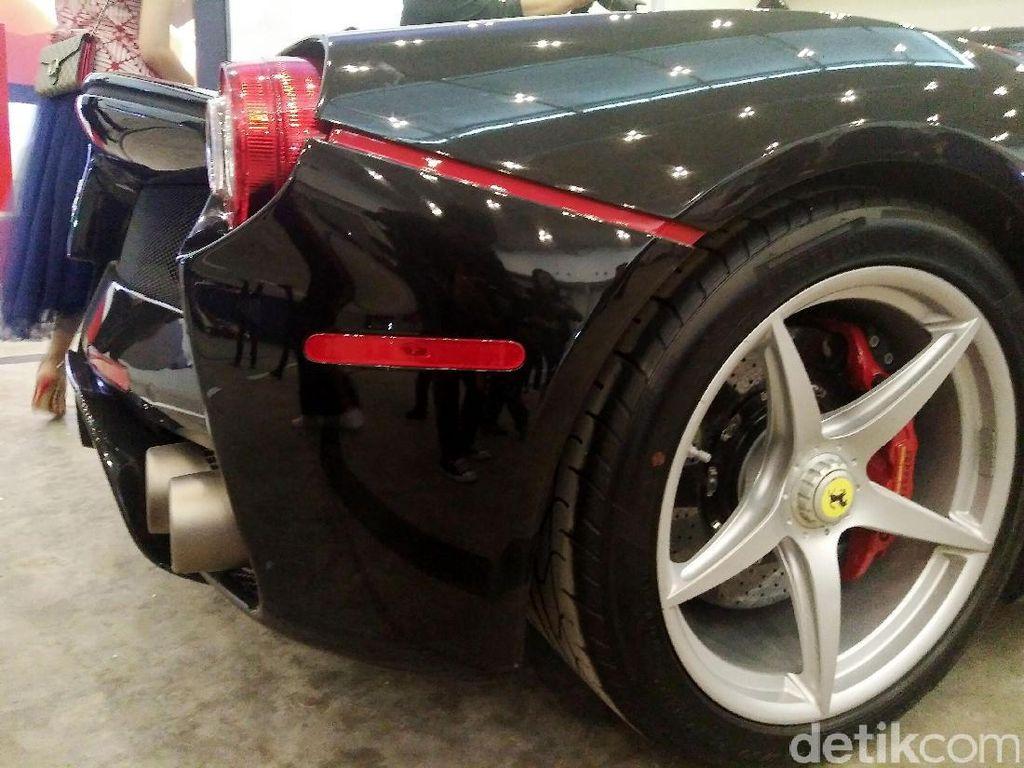 Mobil tersebut dipamerkan dalam rangka perayaan ulang tahun Ferrari ke-70.