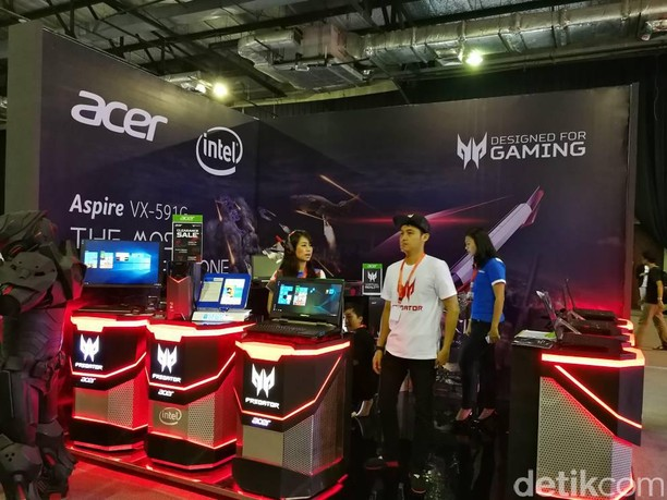 Kemeriahan Grand Final Indonesia Game Championship