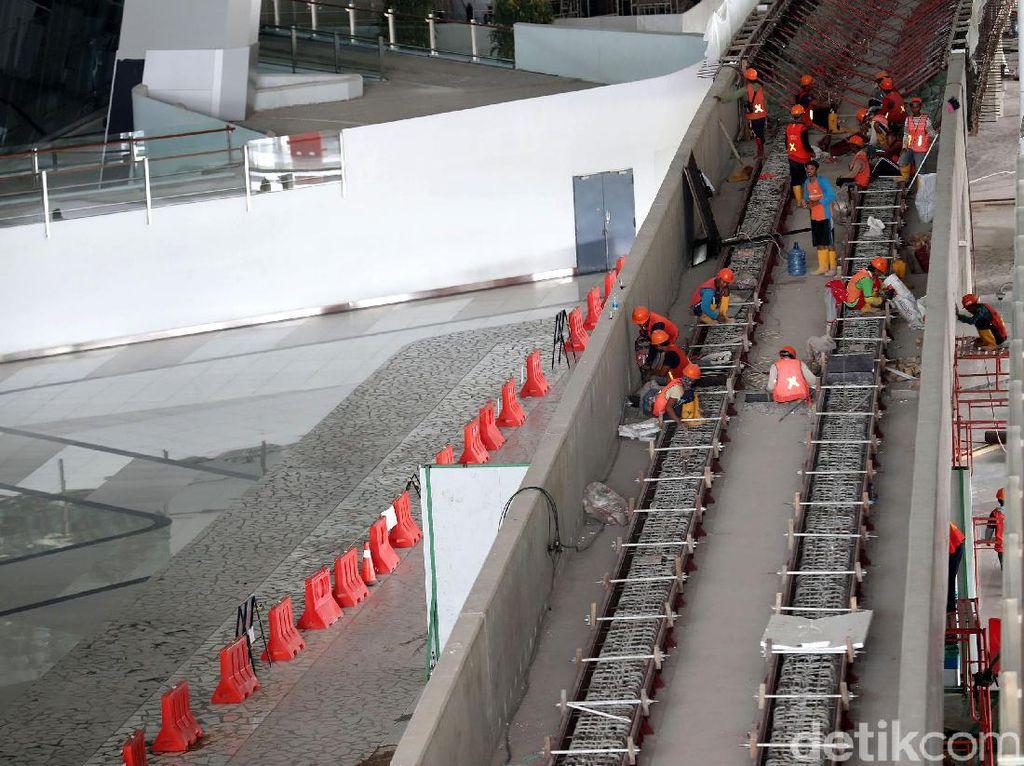 Pembangunan Skytrain Bandara Soeta Terus Dikebut