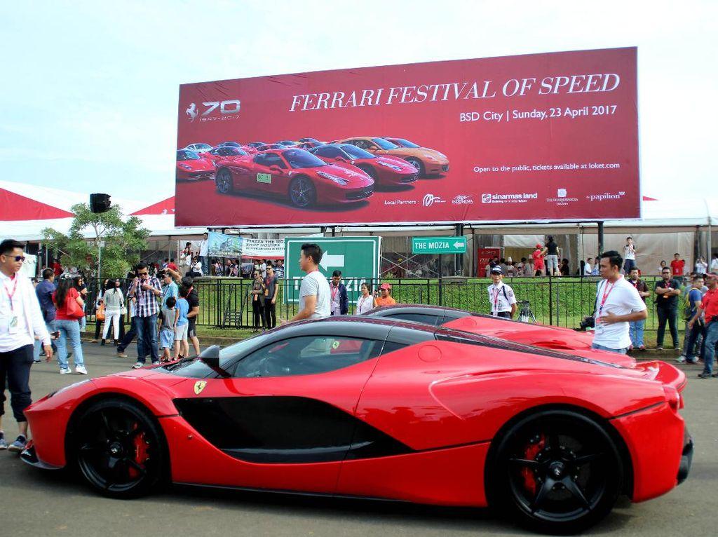 Ultah ke-70, Ferrari Gelar Festival of Speed di BSD