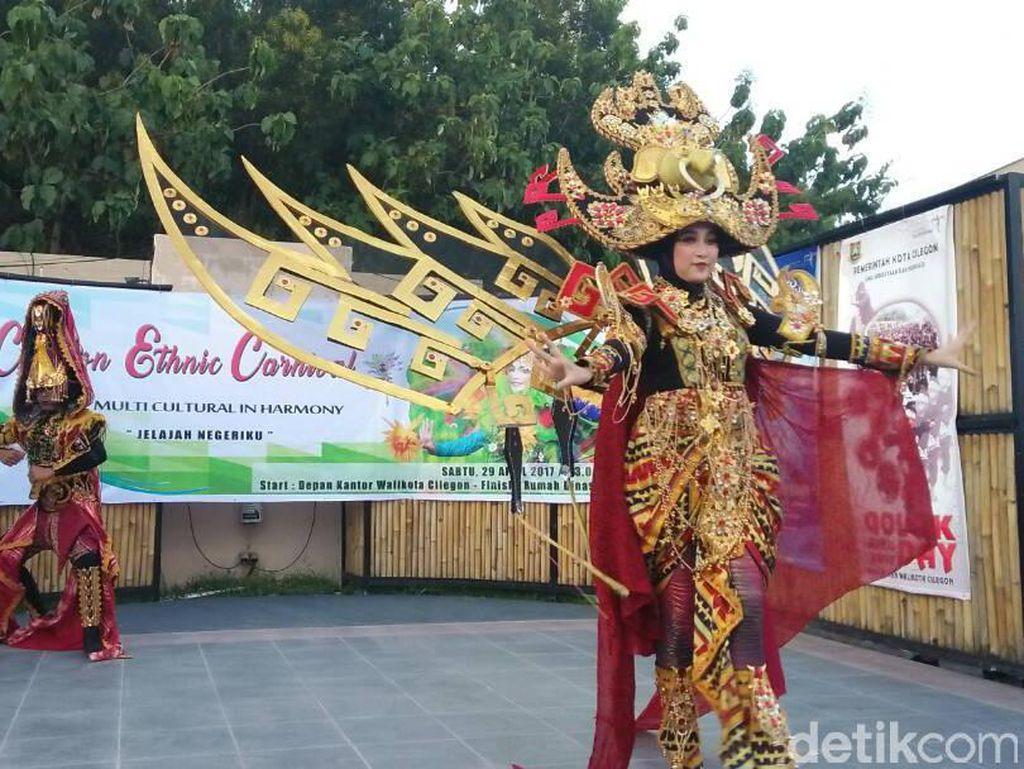 Perayaan Ulang Tahun Cilegon, Ada Pesta Kostum dan Golok 5 Meter