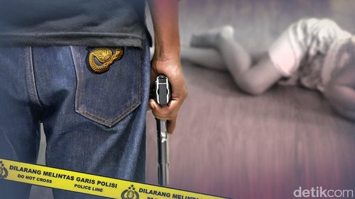 Polisi Tembak Anak Sendiri