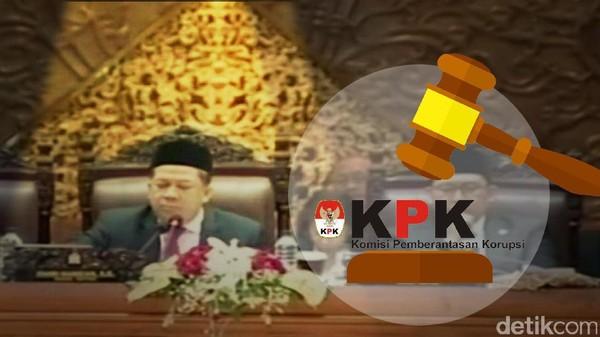 DPR Gulirkan Hak Angket KPK
