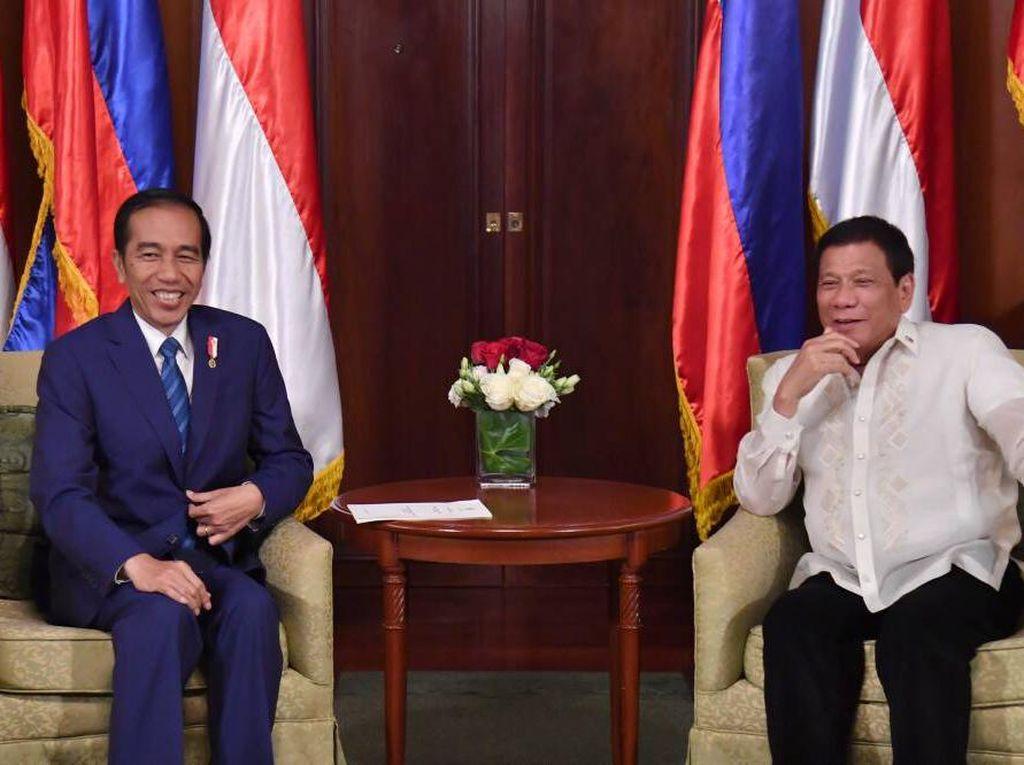 Jokowi Bertemu Duterte Bahas Pertanian Hingga Keamanan