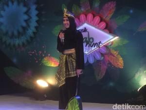 Aksi Garang Hijabers Cantik Pamer Aksi Silat Bikin Nycta Gina Kagum