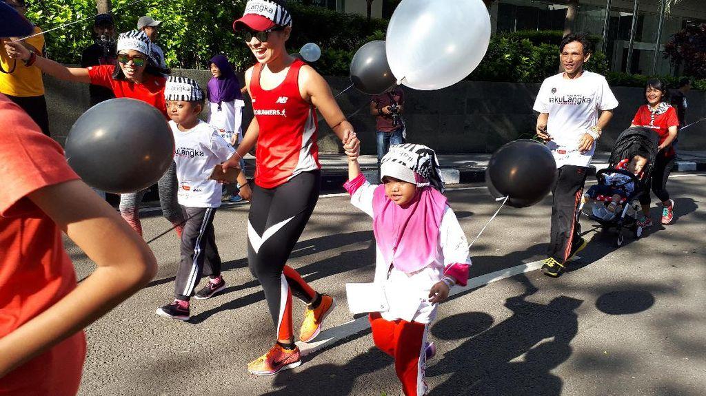 Penyakit Langka Tak Pudarkan Semangat Anak-anak Ini untuk Terus Berlari