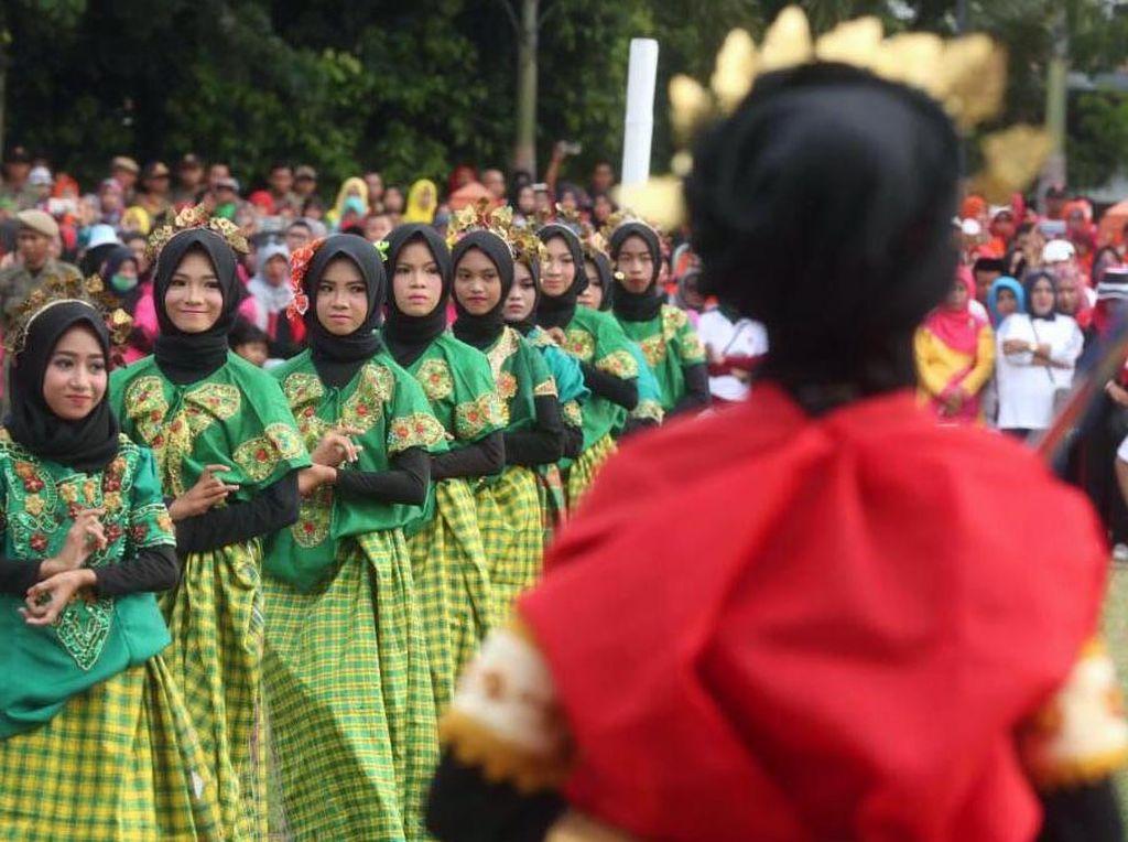 Bulukumba dipilih sebagai tempat kick-off Gala Desa karena dinilai memiliki banyak kekayaan budaya. Ajang ini pun sekaligus jadi promosi destinasi wisata di wilayah tersebut, seperti Pantai Bira atau Phinisi Nusantara. Pool/dok. Kemenpora.