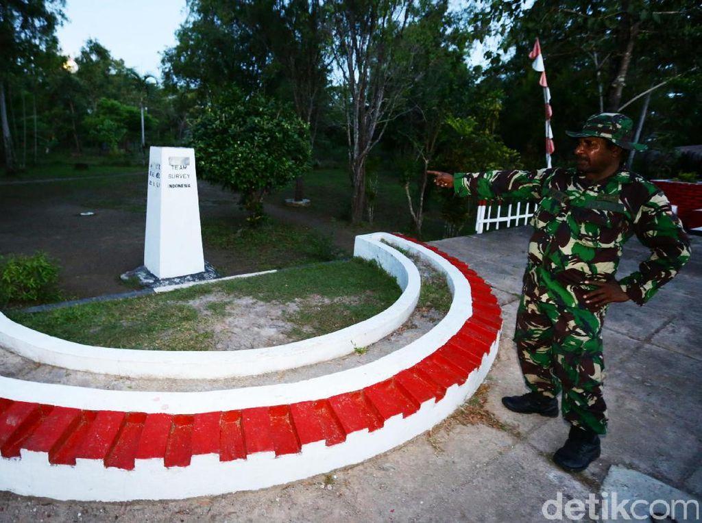 Di distrik Sota terdapat penanda atau monumen perbatasan antara Merauke dan Papua Nugini.