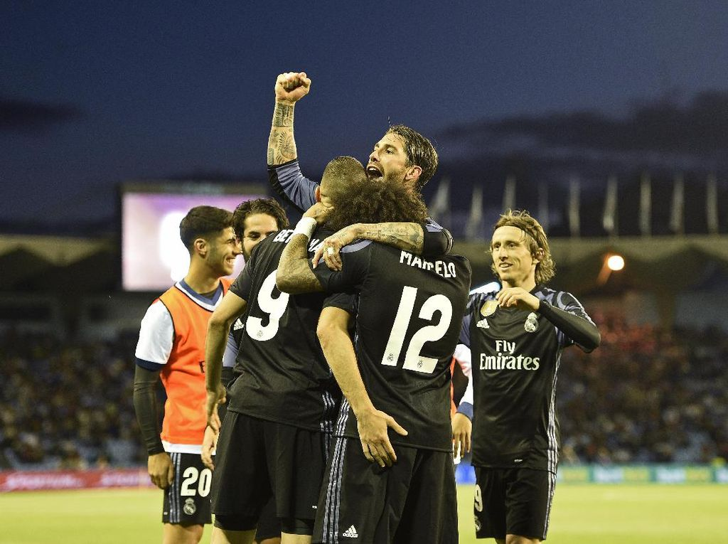 Permalukan Celta Vigo 4-1, Madrid di Ambang Juara La Liga