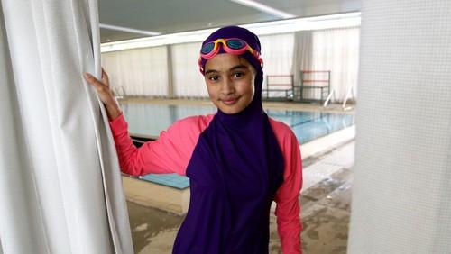 Australia Punya Kolam Renang Umum Dilengkapi Tirai untuk Hijabers