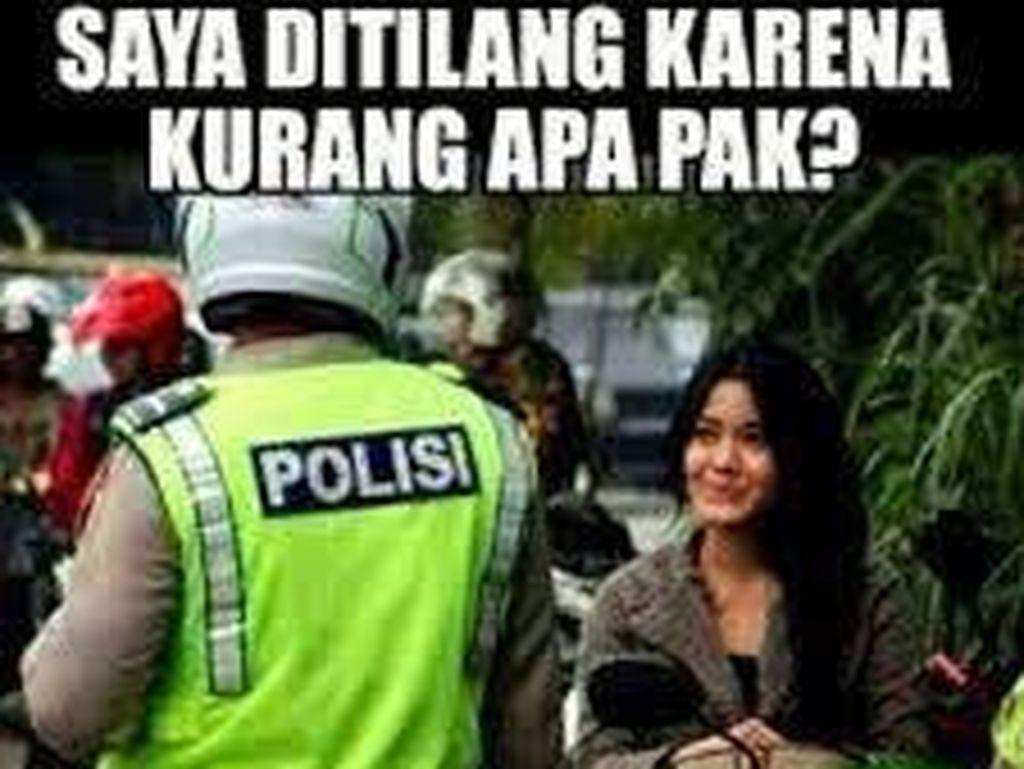 Meme Lucu Ditilang Polisi (2)