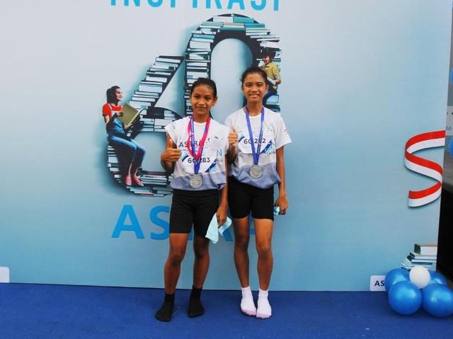 Pelari Tanpa Alas Kaki Jawara di Fun Run Balikpapan