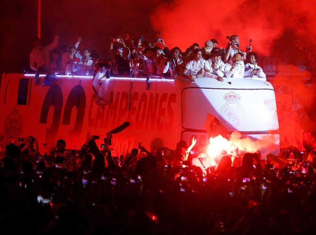 Pesta Juara Real Madrid
