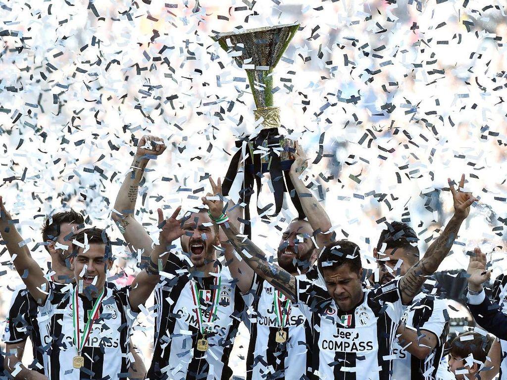 Juve Juara Serie A 2016/2017