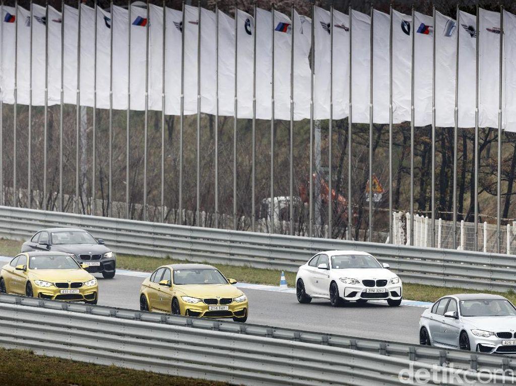 Menguji Lini BMW M di Korea Selatan
