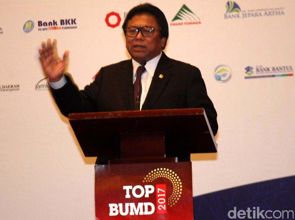 OSO Hadiri Penghargaan Top BUMD