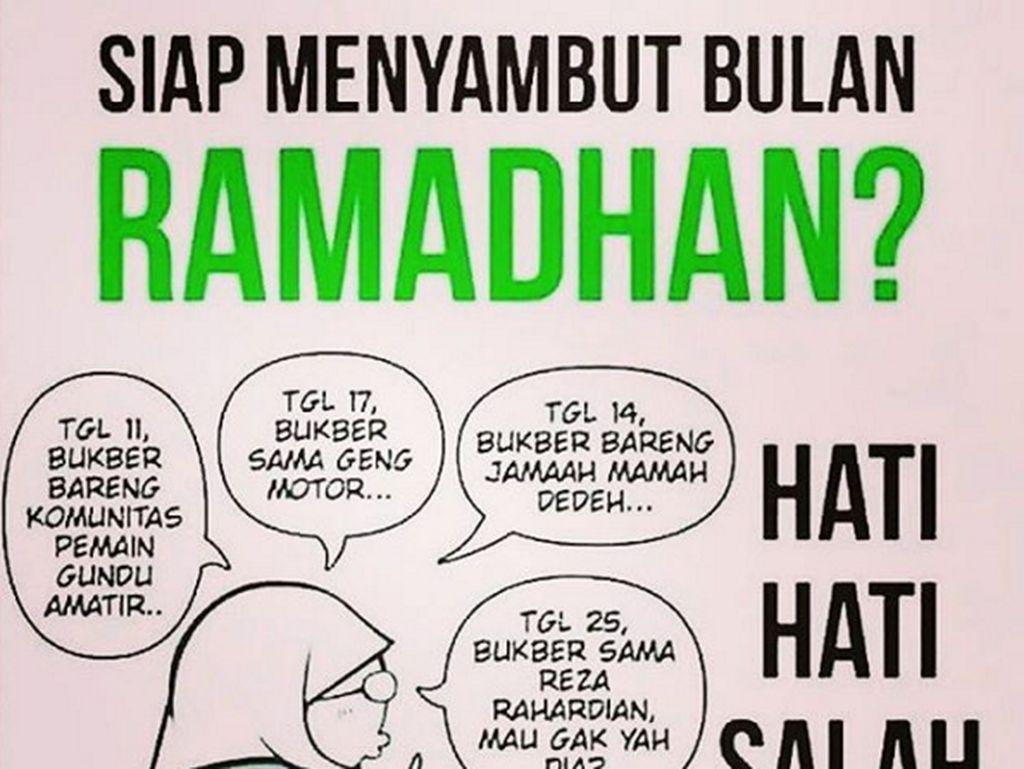Deretan Meme Ceria Sambut Ramadan