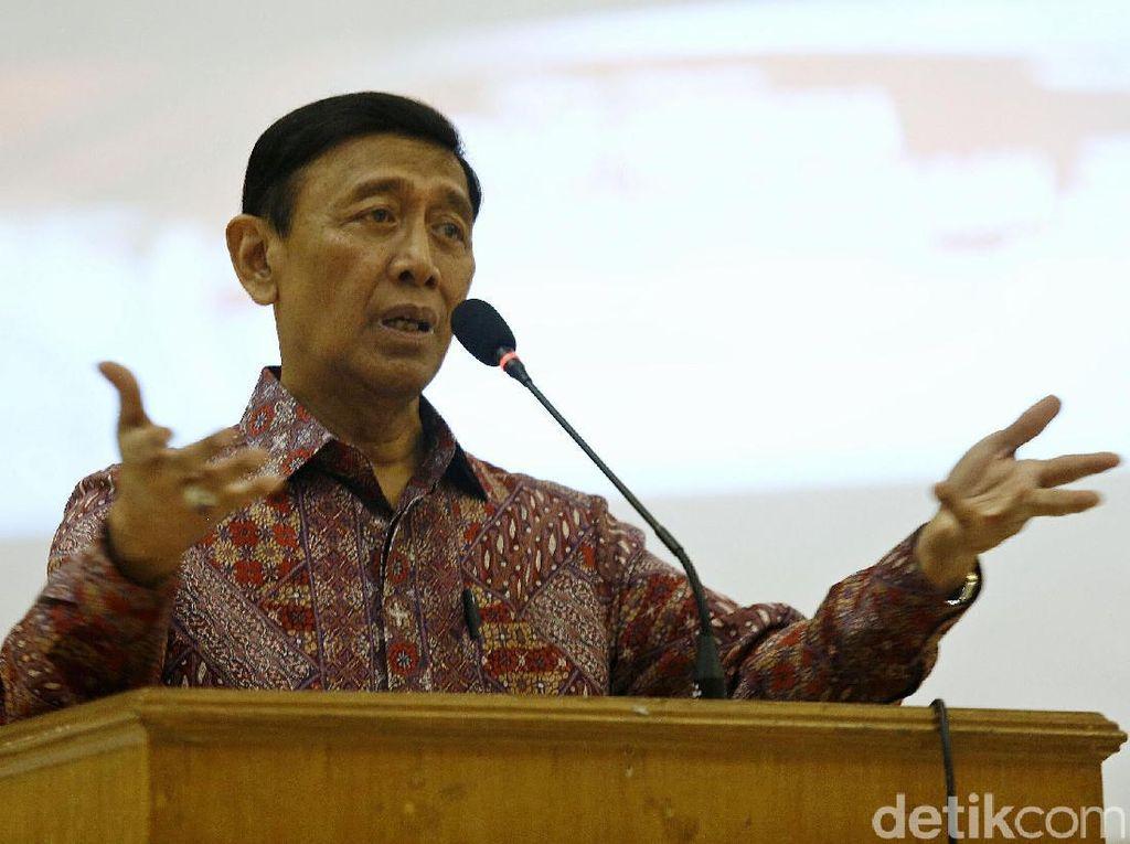 Wiranto Hadiri Diskusi Merajut Indonesia dalam Bingkai Kebhinekaan