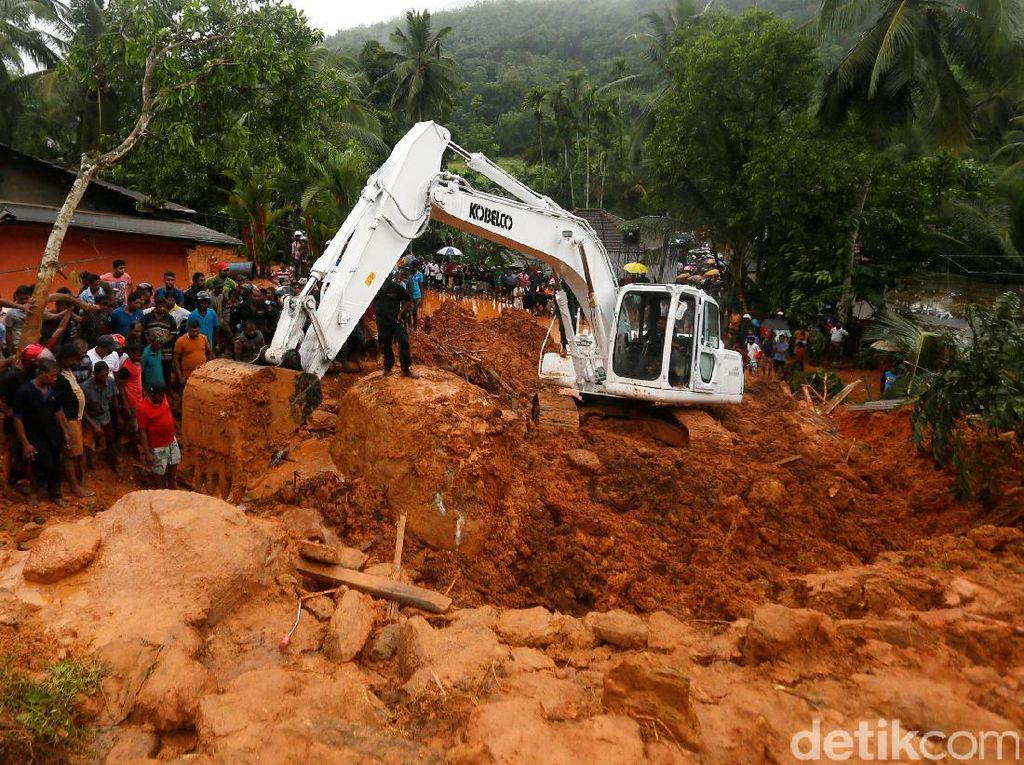 Banjir dan Tanah Longsor Landa Sri Lanka