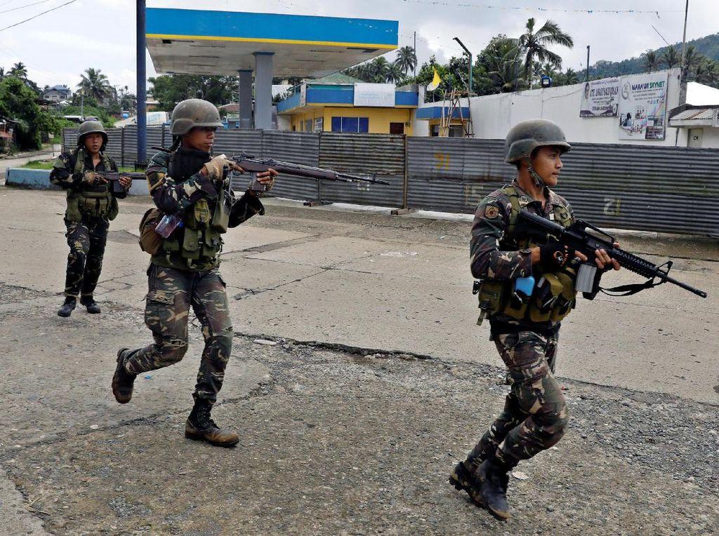 Militer Filipina Buru Militan ISIS di Marawi