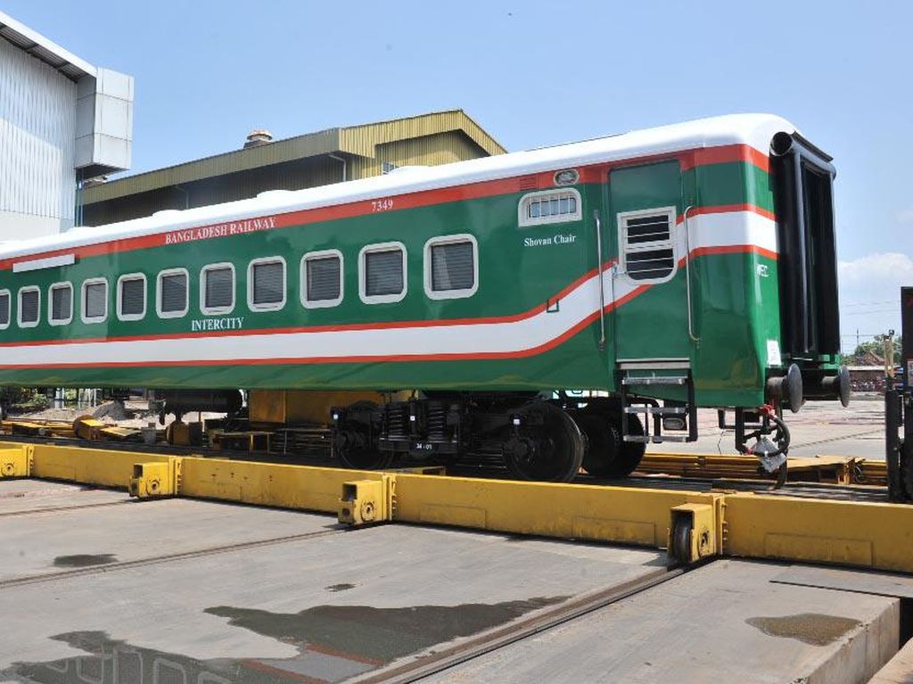 Ini Kereta Made in Madiun yang Mendunia