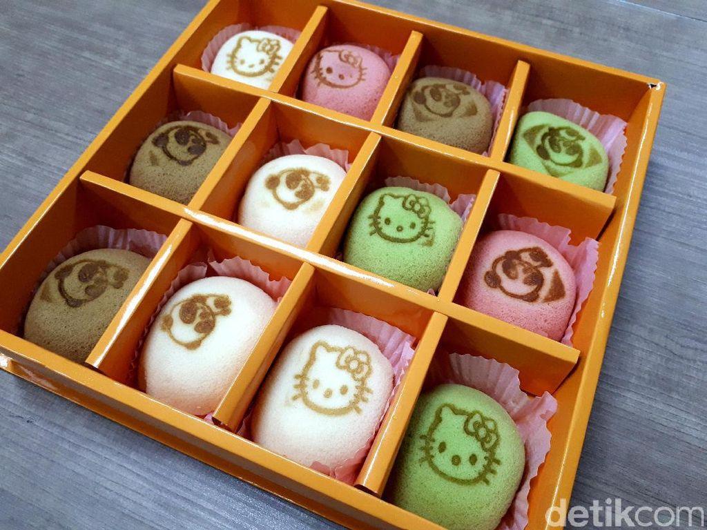 Mainichi Pantry: Ngemil Soft Cake Cantik Rasa Matcha, Taro dan Red Velvet
