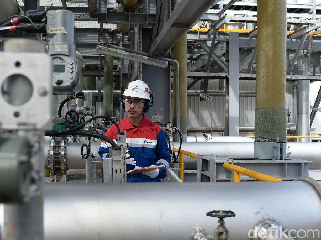PLTP tersebut berkapasitas 2 x 55 MW.