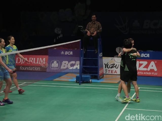 Ganda Putri China Juarai BCA Indonesia Open 2017