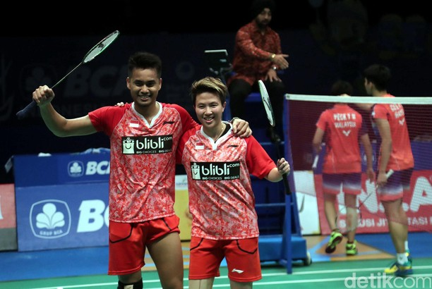 Owi/Butet Pastikan Tiket ke Final Indonesia Open
