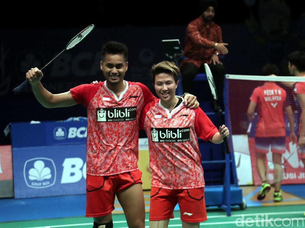 Owi/Butet Pastikan Tiket ke Final Indonesia Open