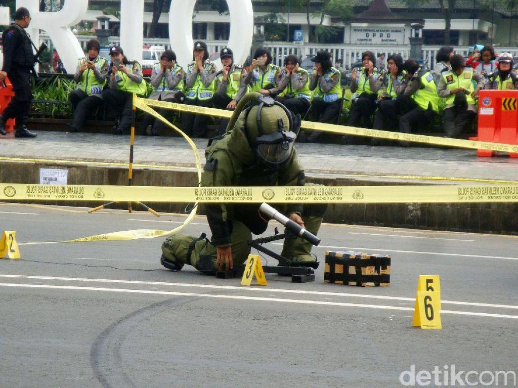 Antisipasi arus mudik Lebaran 2017, pihak Kepolisian Polres Banyumas terus meningkatkan kewaspadaan.