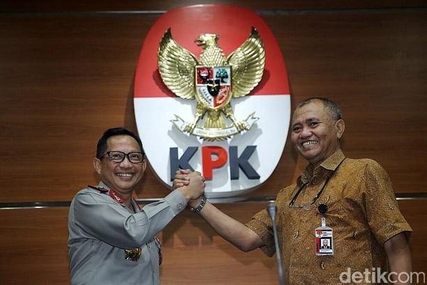 Kapolri dan Ketua KPK Jelaskan Perkembangan Kasus Teror Novel