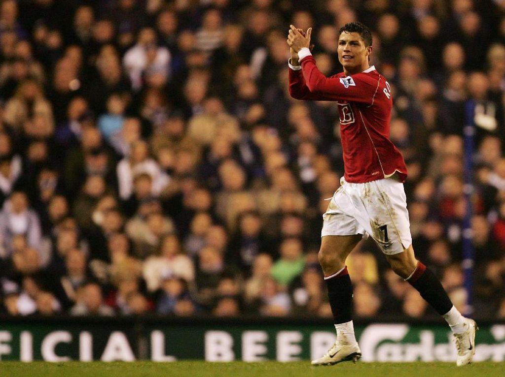 Momen-momen Terbaik Ronaldo di Manchester United